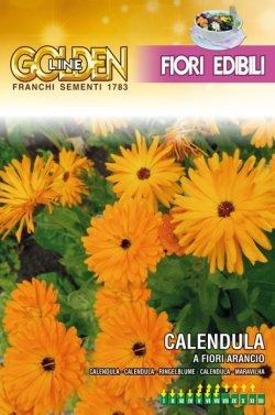 画像1: エディブルフラワー・カレンデュラ-CALENDULA a fiori arancio