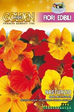 画像1: エディブルフラワー・ナスタチウム-NASTURZIO nano multicolor