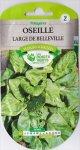 CATROS社-フランス野菜の種【ソレル・Large Green】