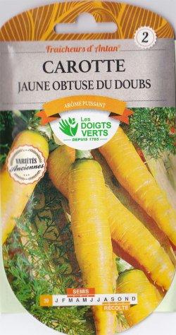 画像1: イエローキャロット・jaune du doubs【固定種】