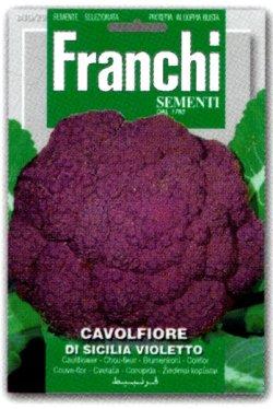 画像1: カリフラワー・DI SICILIA VIOLETTO【固定種】