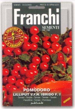 画像1: FRANCHI社-イタリア野菜の種【イタリアントマト・LILLIPUT F.1】