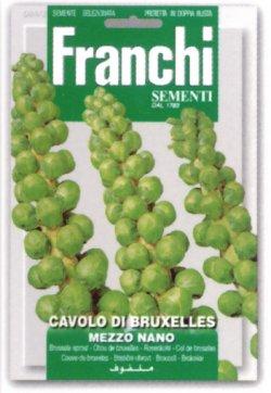 画像1: FRANCHI社-芽キャベツ-ブリュッセルスプラウト・MEZZO NANO